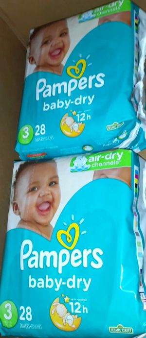 Size 3 pampers for Sale in Los Angeles, CA