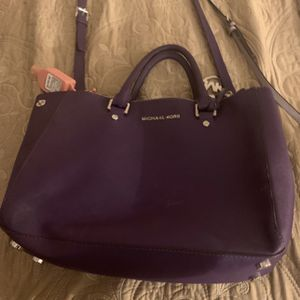 Mk Purple Bag, VS Crossbody, Couch Chained Wallet for Sale in Union City, CA
