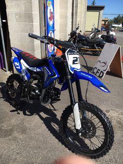 Brand New 2020 Coolster 125CC Big wheel Dirt Bike Pit bike for Sale in Lakewood,  WA