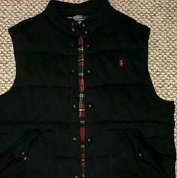 Men's Polo Ralph Lauren Black Vest-XXL for Sale in Camden,  NJ