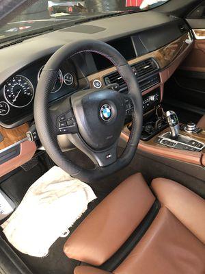 F10 Custom Sport Perforated Flat Bottom Steering Wheel for Sale in Tustin, CA
