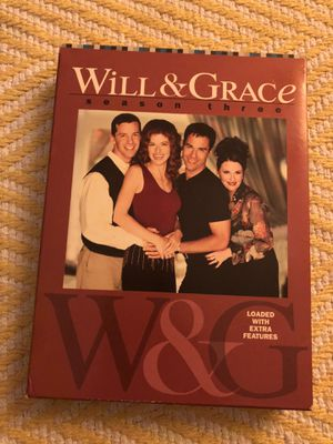 Will and Grace Season 3 Collection DVD for Sale in Washington, DC