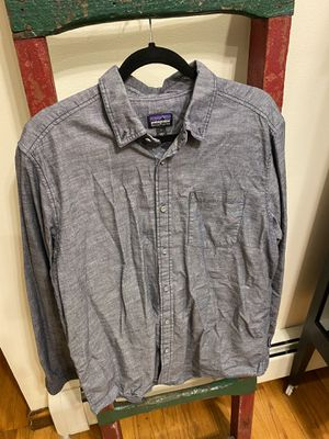 Patagonia long sleeve button down for Sale in Brooklyn, NY