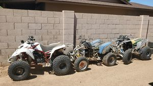 3 yamaha blasters 200cc 2 stroke for Sale in Glendale, AZ