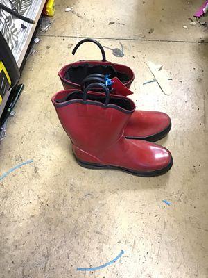 Rain boots size 4 for Sale in Matawan, NJ