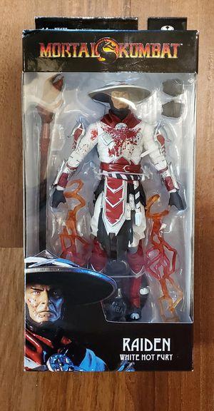 "Raiden Bloody White Hot Fury Ver. (Mortal Kombat XI) 7"" Action Figure McFarlane Toys for Sale in Rancho Cucamonga, CA"