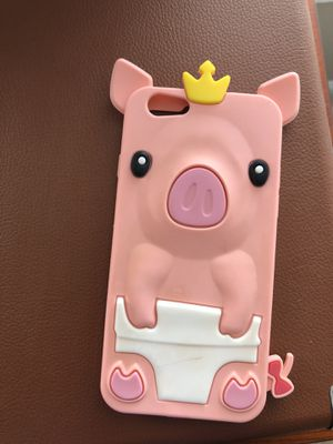 iPhone 6/7/8 pig phone case for Sale in Canton, MI