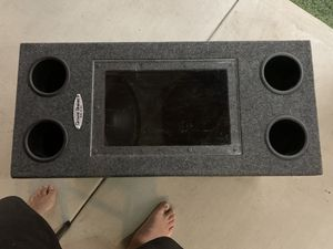 "2 Polk Audio 12"" subwoofers & Amp for Sale in San Diego, CA"