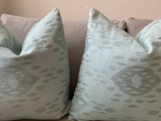 2 Light Green Decorative Pillows for Sale in Arlington,  VA
