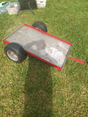 Home build lawn trailer. 4 foot by 30 in wide. for Sale in Bartow, FL