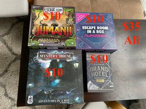 Escape Room Board Games for Sale in Cary, NC