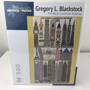 The World of Landmark Buildings NEW 600 pieces Gregory L Blackstock for Sale in Huntington Beach, CA