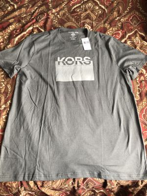 Mens Grey Michael Kors Original Shirt for Sale in San Diego, CA