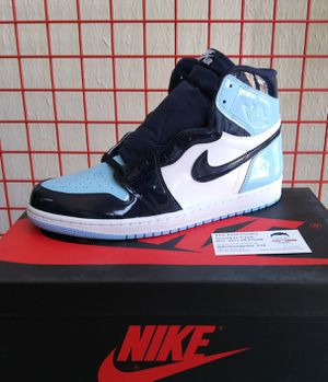 NIKE AIR JORDAN 1 RETRO HIGH OG UNC BLUE CHILL SIZE 12W OR 10.5 MEN US SHOES NEW WITH BOX $550 for Sale in Cleveland, OH