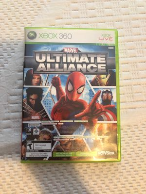 Marvel Xbox 360 game for Sale in Bothell, WA