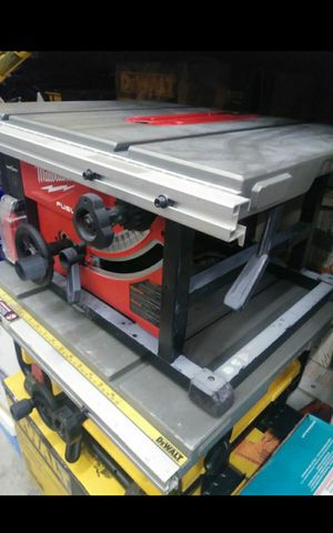 MILWUAKEE M18 FUEL BRUSHLESS ONE KEY TABLE SAW TOOL ONLY LIKE NEW for Sale in Colton, CA