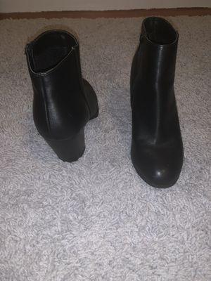 Women's size 9 - high heel block boots for Sale in Winthrop, MA