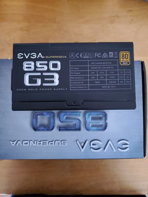 Evga 850 G3 Gold Power for Sale in Lakewood, CA