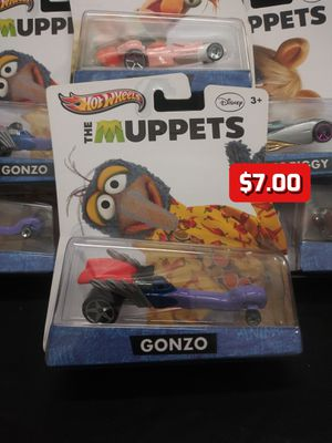 2012 Hot Wheels The Muppets Disney Gonzo Collector Character Cars 1:64 for Sale in Oakland, CA