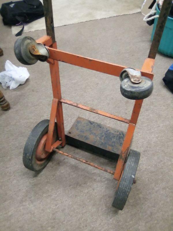 500 LB Metal Convertible Dolly / Cart