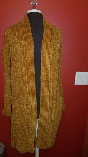 Chenille cardigan for Sale in Orland Park, IL