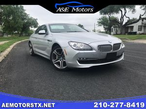 2012 BMW 6 SERIES 650I XDRIVE for Sale in San Antonio, TX
