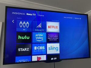 """40"""" TV Insignia with Roku for Sale in El Segundo, CA"""