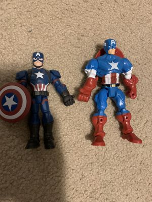 Captain America figures for Sale in Tacoma, WA