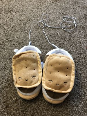 Smoko USB Heated Soft Cushioned Slipper. OS for Sale in Kent, OH