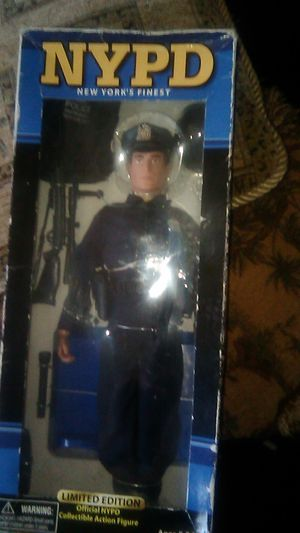NYPD Action Figure for Sale in Downey, CA