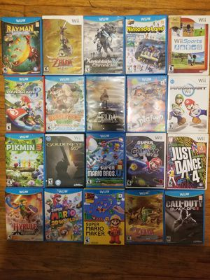 Wii U & Wii Games for Sale in Chicago, IL