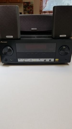 2015 Pioneer receiver and Cambridge speakers for Sale in San Jose, CA