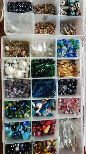 Rear jewelry making beads glass stem beads very expensive for Sale in Los Angeles, CA