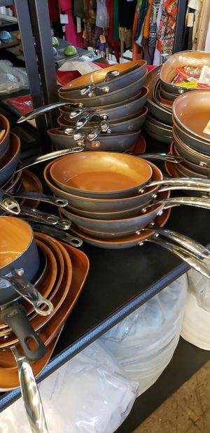 Cooking Pans high quality at extremely deeply discounted price for Sale in Tustin, CA
