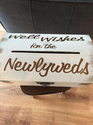 Wedding Card Box for Sale in Seattle, WA