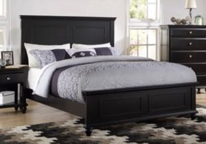 Queen Sized black bed frame for Sale in Santa Ana, CA