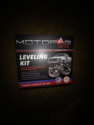 Motofab 2inch leveling kit for Sale in Georgetown, DE