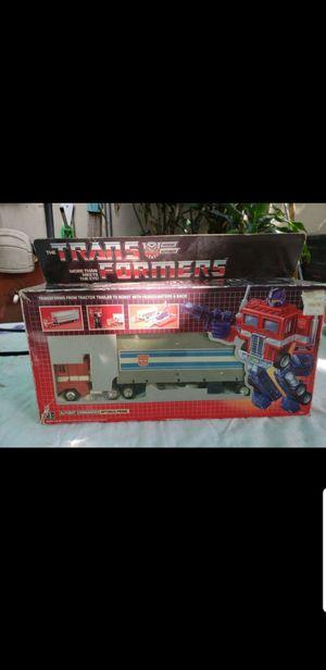 1984 Transformers Optimus Prime USE for Sale in Miami, FL