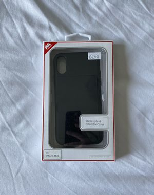 iPhone X/XS Black Stash Hybrid Phone Case for Sale in Pasco, WA