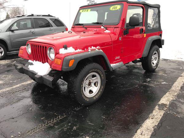 2006 Jeep Wrangler TJ/SE