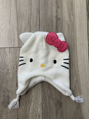 Gently used kids beanie for cold weather or snow Hello Kitty for Sale in Peoria, AZ