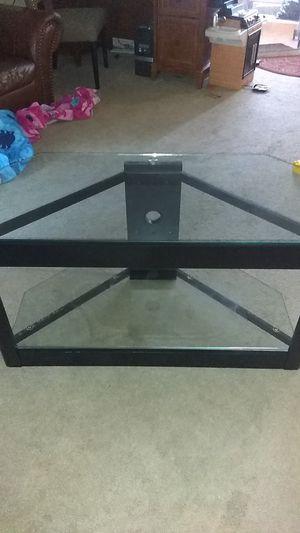 Glass TV stand for Sale in Clovis, CA