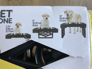 Raisable Pet water bowel for Sale in Murrieta, CA