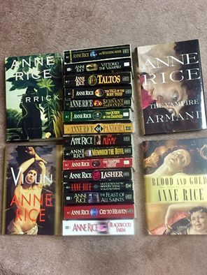 Anne Rice Book Collection for Sale in Northfield, OH