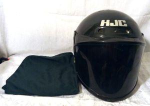 HJC FG-8 Motorcycle Snowmobile Black Dot Snell 95 Helmet XL Tinted Visor w Bag for Sale in Largo, FL