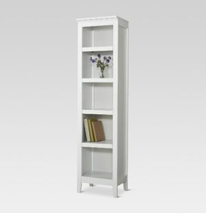 New in box white narrow bookcase for Sale in Oak Lawn, IL