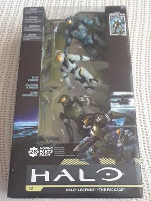 McFarlane Toys Series 2 Halo Legends: The Package Action Figure 3-PackMcFarlane Toys Series 2 Halo Legends: The Package Action Figure 3-Pack for Sale in Salt Lake City, UT