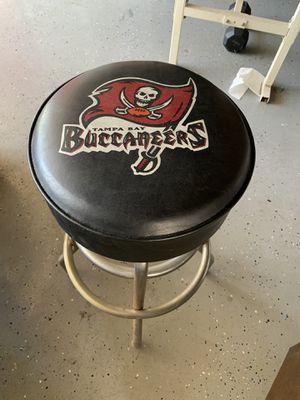 Bar stool nfl buccaneers for Sale in Ontario, CA