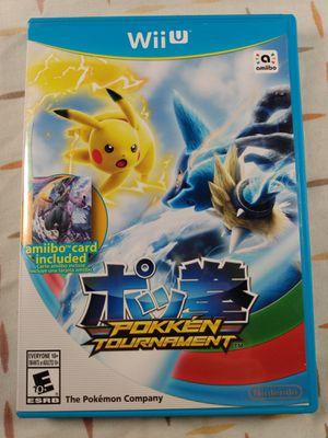 Pokken Tournament (Nintendo Wii U) for Sale in Chicago, IL