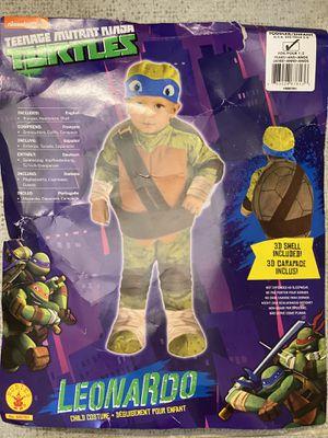 Leonardo Ninja Turtles Costume 1-2 years old for Sale in Atlanta, GA
